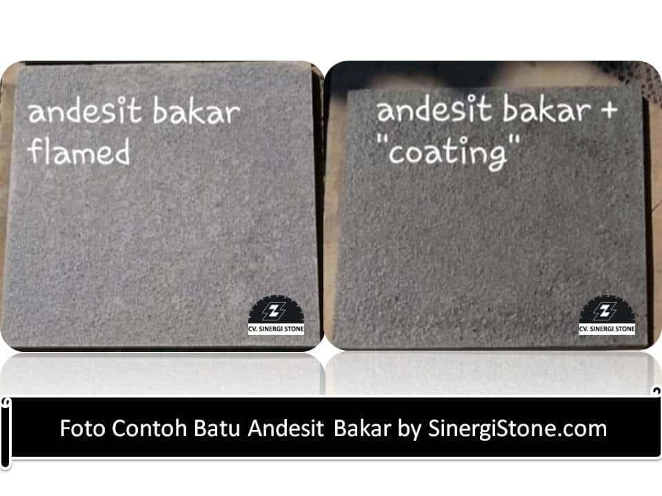 Batu Alam Andesit untuk Lantai Kamar Mandi Kering & Basah