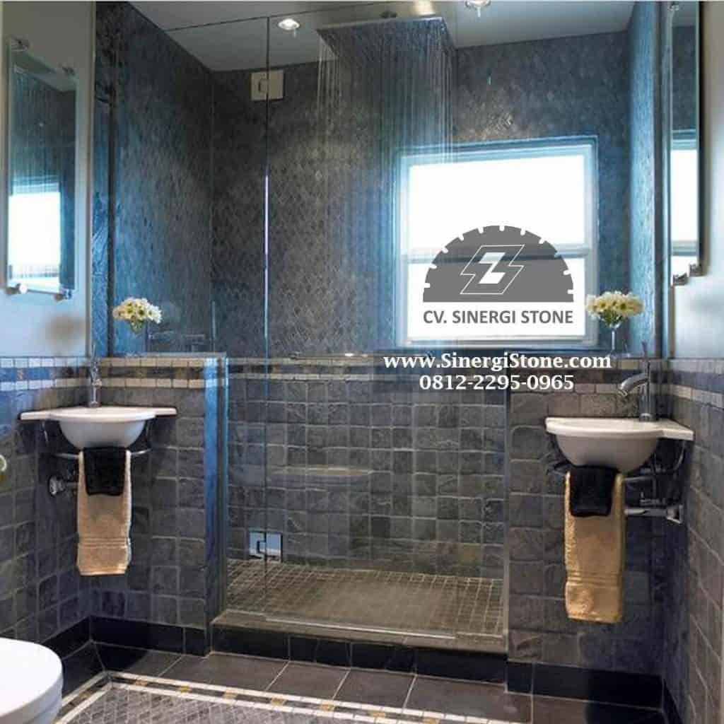 batu andesit untuk lantai dan dinding kamar mandi