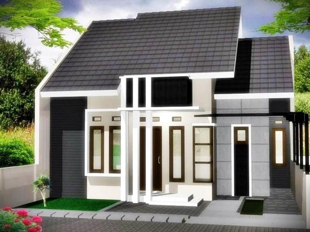 Rumah Minimalis Dominasi Putih