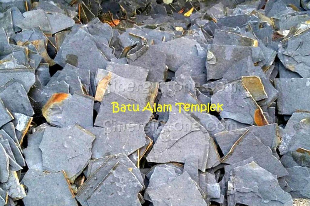 batu alam templek untuk dinding