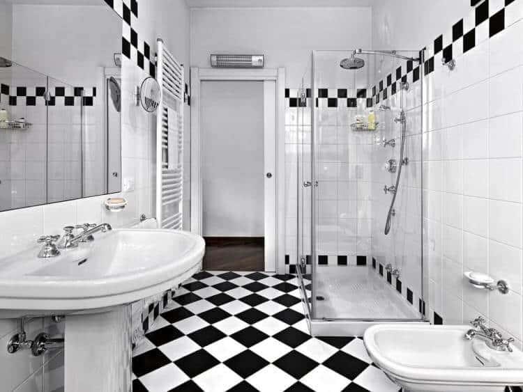 motif keramik kamar mandi model sekarang
