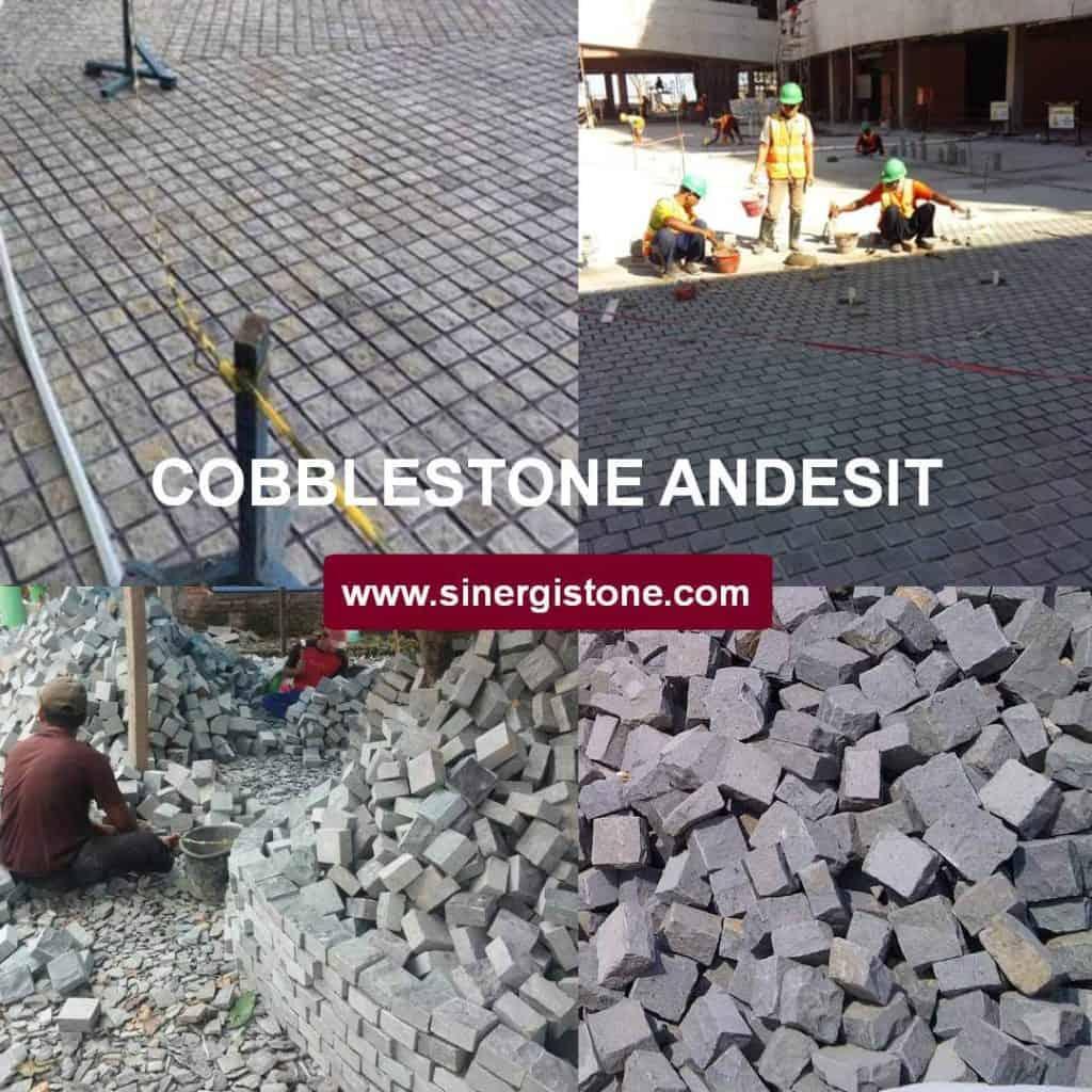 cobblestone andesit