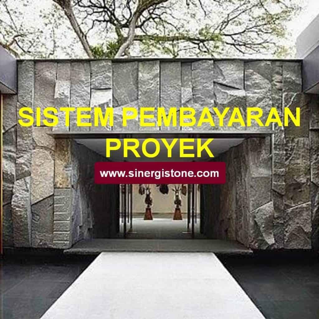 sistem pembayaran proyek dan transparansi anggaran